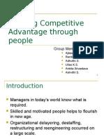 Building Competitive Advantage Through People