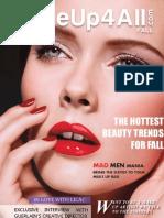 38063036 MakeUp4All Fall 2010 Magazine