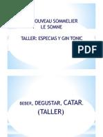 Taller Especias y Gin Tonic