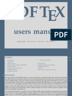 pdfTeX Users Manual