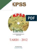 KPSS TARIH-2012