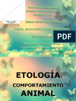 ETOLOGIA (BIOLOGIA)