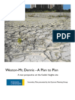 Secondary Plan for Weston-Mt. Dennis