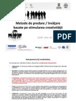 Cristian Paun Tehnici de Predare Prin Stimularea Creativitatii