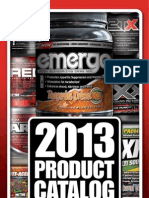 2013 Max Muscle Sports Nutrition Product Catalog