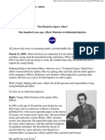 Was Einstein a Space Alien_ - NASA Science