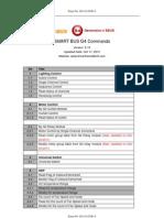 Smart Bus Commands V5.10