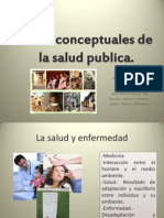 Bases Conceptuales de La Salud Publica