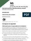 Instrucciones de Servicio Resumidas Es-ES