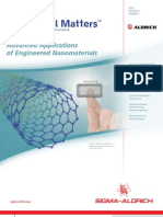 Advanced Applications of Engineered Nanomaterials - Material Matters v2n1