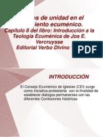 Exposicion de Ecumenismo