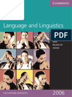 CUP Guide of Language and Linguistics