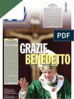 Grazie Benedetto XVI - Inserto Avvenire