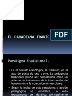 El Paradigma Tradicional