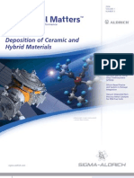 Deposition of Ceramic and Hybrid Materials - Material Matters v1n3