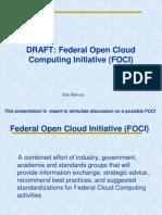 Federal Open Cloud Computing Initiative (FOCI)