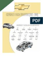 Chevrolet Corsa Evolution (2002-2004) - Manual de Despiece y Catalogo de Repuestos