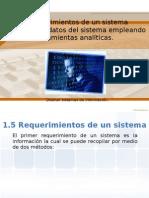 Requerimientos de Un Sistema - Obtener Datos de Sistema Con Herramientas Analiticas