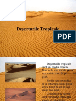 deserturi tropicale