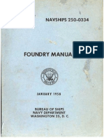 US Navy Foundry Manual 1958