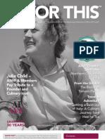 Julia Child Magazine
