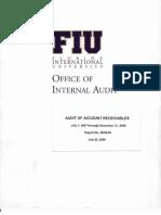 Audit of Account Receivables