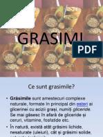 Nu Sterge!!!!Referat Chimie Grasimi