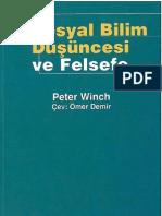 Peter Winch - Sosyal Bilim Düşüncesi ve Felsefe