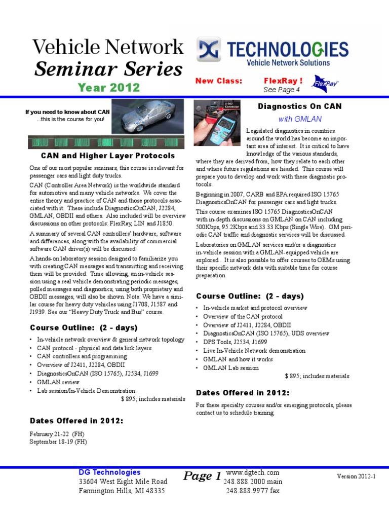 Info Brochure | Communications Protocols | Computer Engineering