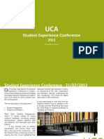 UCA Student Experience Conference 2013