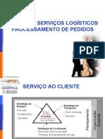 Aula 04 Serviços Ao Cliente e Process Amen To de Pedidos Prof. Mario Silvestri Filho