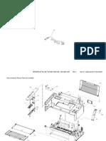 Stylus SX100 SX105 SX109 TX100 TX105 TX109 Parts List and Diagram
