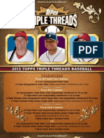 2013 Triple Threads BB - HOBBY