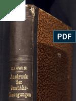 Darwin Charles - Ausdruck der Gemütsbewegungen 1872