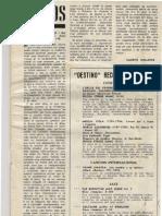 Revista Destino nº 1515 (20-08-1966)