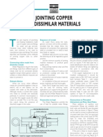 Jointing to Dissimilar Materials