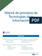Mejora de procesos de Tecnologías de la Información