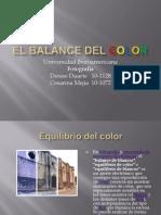 El Balance Del Color (Denise)