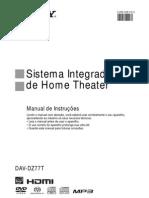 Sony. DAV-DZ77T - Manual