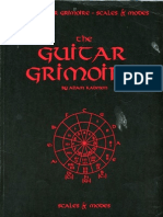 Guitar Grimoire - Scales and Modes