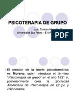 Psicoterapia de Grupo - JMogollón
