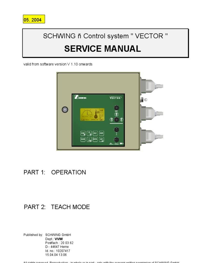 Vector Manual   Pump   sel Engine