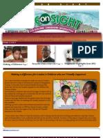 Eye on Sight Newsletter January 2013