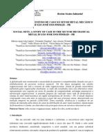 Redes Sociais Em Empresa Metalurgica - Estudo de Caso