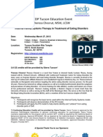 IAEDP Tucson Education Event - Theresa Chesnut (With CE Info)