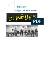 Strongest Shall Survive for Dummies[B.starr]