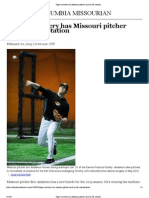 'Super' Recovery Has Missouri Pitcher Back in the Rotation