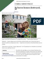 Sedalia Tornado Leaves Homes Destroyed, 15 to 25 Injured