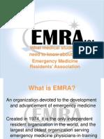 EMRA 101 Info for Med Students