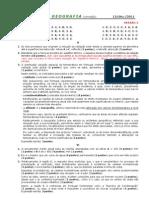 2011-12 (2) TESTE 10º GEOG A [DEZ - CRITÉRIOS CORREÇÃO] (RP)